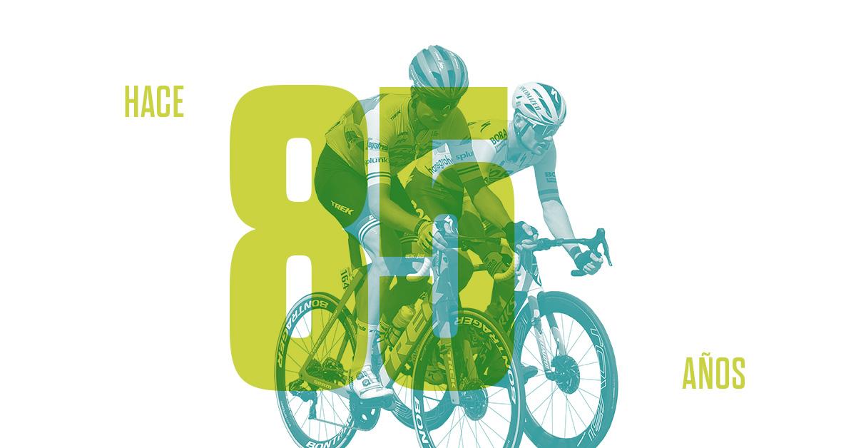 La primera Vuelta Ciclista a España
