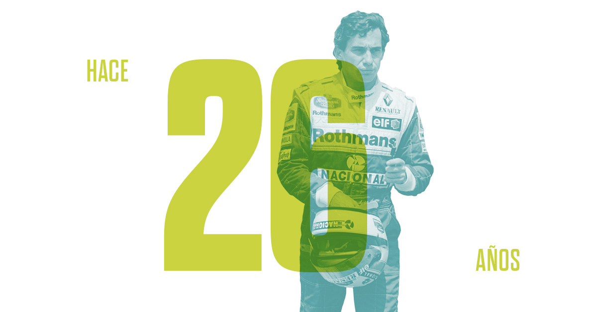 Ayrton Senna perdió la vida en un accidente