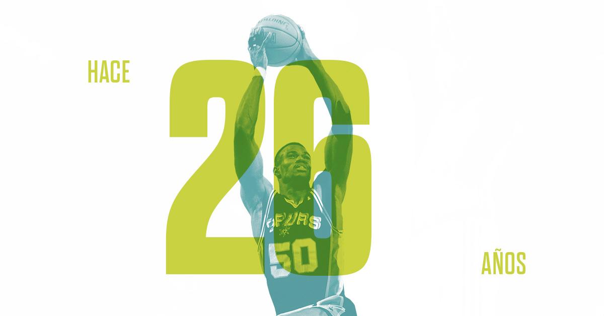 David Robinson anotó 71 puntos en un partido de la NBA