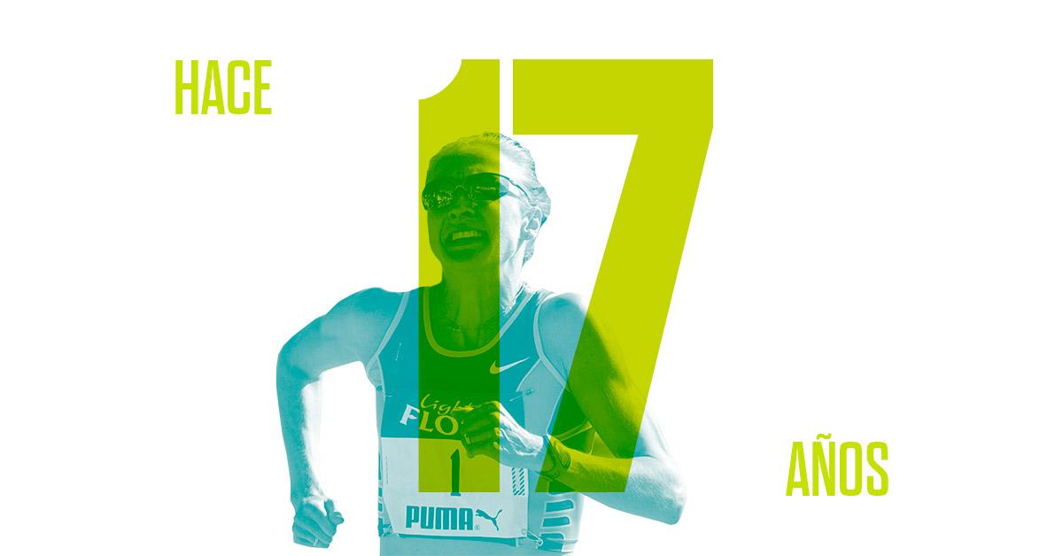 Maratón Paula Radcliffe leyenda