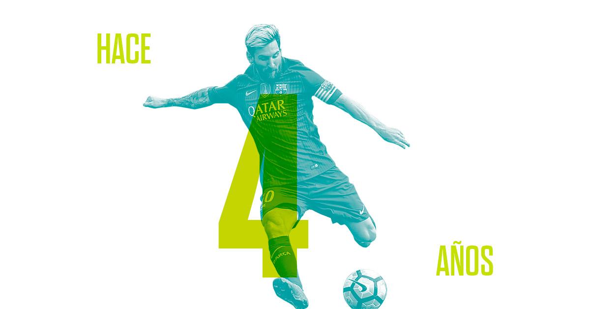 Fútbol Messi nombre y leyenda